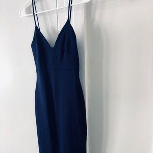 Lulu Navy Bodycon Dress